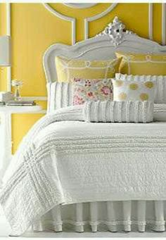 white and yellow very pretty