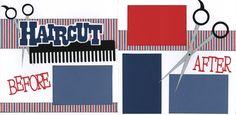 Haircut layout