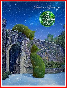 Season's Greetings from The Topiary Cat