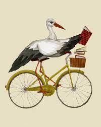 Image result for stork illustration