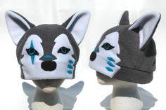 Grey Wolf Hat by clearkid.deviantart.com on @deviantART