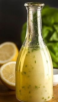 Lemon vinagrette