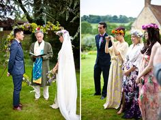 An English Bohemian Summer Wedding | Green Wedding Shoes Wedding Blog | Wedding Trends for Stylish + Creative Brides