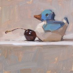 Carol Marine's Painting a Day: Pushover