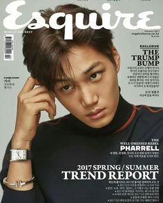 #KAI @Esquire Korea Magazine [Feb.2017]
