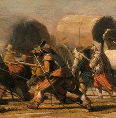 caballerc3ada (post) Painting, Art Production, War, Painting Art, Paintings, Painted Canvas, Drawings