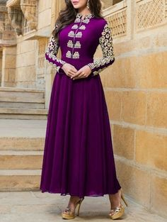 Check out what I found on the LimeRoad Shopping App! You'll love the Purple Embroidered Faux Georgette Semi Stitched Suit Set. See it here http://www.limeroad.com/products/9576169?utm_source=3a6cf9723c&utm_medium=android