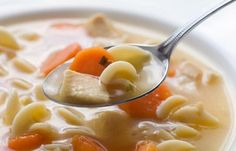 Chicken Noodle Soup - Panera Bread Recipes Recipe food Best soup ever- only 120 calories
