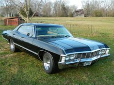 Just finished building our 1967 Impala 4 door hardtop Supernatural car - Discuss Hot Rod, General Topics, and General Discussion topics in the Hot Rod forums at Hot Rod Magazine Magazine. My Dream Car, Dream Cars, Chevrolet Impala 1967, 67 Impala, Ford Mustang, Chevy Muscle Cars, Old School Cars, Best Classic Cars, Sports Sedan