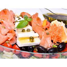 Meniu catering pentru evenimente cu salate proaspete Catering, Dairy, Cheese, Food, Salads, Essen, Yemek, Meals
