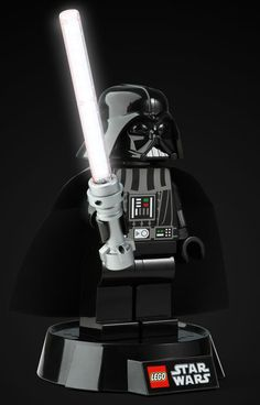 ThinkGeek :: Lego Star Wars Darth Vader Desk Lamp