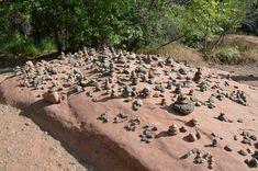 Kristin stumbles upon mysterious Buddha Beach in Sedona, Arizona.