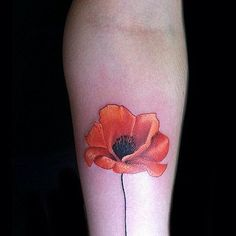 Floral Tattoos That Are So Much Better Than a Bouquet Punchy Poppy // Flower Tattoo Ideas That Are So Much Better Than a BouquetPunchy Poppy // Flower Tattoo Ideas That Are So Much Better Than a Bouquet Future Tattoos, Love Tattoos, Tattoo You, Beautiful Tattoos, New Tattoos, Tattoos For Guys, Tattoos For Women, Floral Tattoos, Tatoos