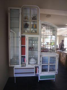 Kitchen cabinet by Piet Hein Eek