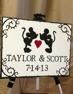 mickey themed wedding #mickey #mickeymousewedding