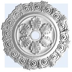 bel-air medallion - ceiling medallion - inviting home Cornice Moulding, Baseboard Molding, Cove Molding, Home Ceiling, Ceiling Decor, Ceiling Design, Modern Ceiling Medallions, Flexible Molding, Coral Lamp