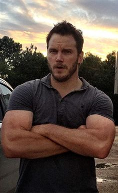 Chris, can you please tell your arms to find their chill?