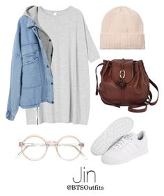 """""""Getting his attention at a Concert"""" by btsoutfits ❤ liked on Polyvore featuring Monki, adidas Originals and Brighton"""