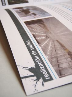 Brochure for Hidropresión, a company specialized in surfaces treatment.  www.iamican.com