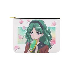 Michiru Kaiou Carry-All Pouch 8''x 6''