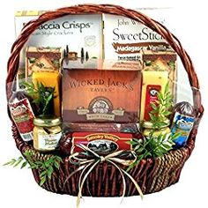 Gift Basket Village It's A Guy Thing for Guys - great Valentine's Day gift idea for him