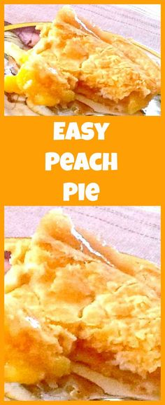 Homemade Peach Pie. A wonderful recipe all made from scratch with a delicious crispy flaky pastry. Serve warm with some whipped cream or ice cream! Yummy! #peach #pie #Thanksgiving