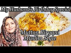 Mutton Biryani Muslim Style in hindi l मटन बिरयानी l Cooking with Benazir Top Recipes, Rice Recipes, Veggie Recipes, Indian Food Recipes, Veggie Food, Recipies, Indian Appetizers, Indian Snacks, Rice Dishes