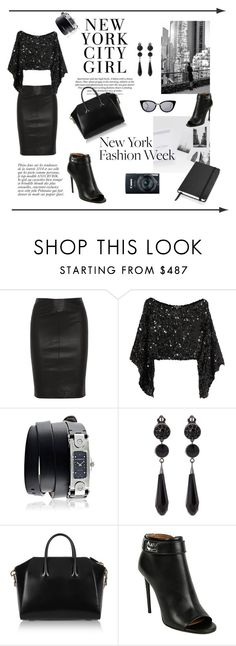 """""""Pack for NYFW"""" by raluk31 on Polyvore featuring Joseph, Sonia Rykiel, Givenchy, Anja, Fendi, women's clothing, women, female, woman and misses"""