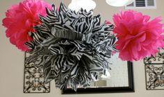idée récup déco papier fleurs suspendues design moderne intérieur