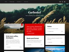 If you are looking a stylish, modern or professional template to build blog site,Garfunkel is one of perfect choice for you. The theme meet responsive on all devices or any...