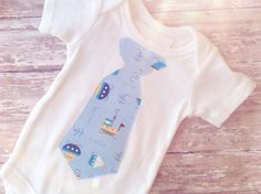 Boy Nautical Outfit Bay Boy Nautical Tie by sherbetwithsprinkles
