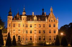 One of the castles of the Belgian famous noble and prince family De Merode, in Westerlo, Belgium