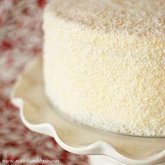 Not So Humble Pie: April 2010  Raspberry Lemon Coconut cake.
