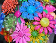 Vintage Flower Enamel Pin Lot61 | Flickr - Photo Sharing!