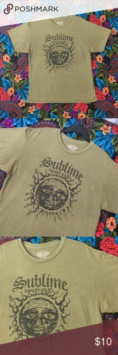 8fe5ea9fa SUBLIME SHIRT BAND TEE REGGAE SKA READ FIRST AS IS Shirt has bleach stains  in front