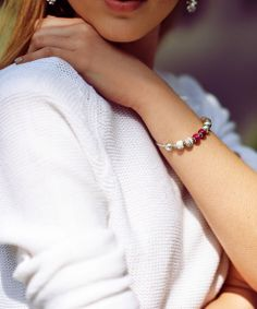 Blog #PANDORAloves : Kayture. Here showing off her style and inner values with her #PANDORAessencecollection bracelet with #Passion #Love & #Joy charms
