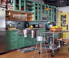 Moveable Kitchen Island with Seating one wall kitchen