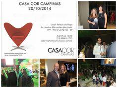 SOCIAIS CULTURAIS E ETC.  BOANERGES GONÇALVES: Coquetel de abertura da Casa Cor Campinas 2014