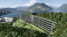 Nizza Paradise offers magnificent design apartments and luxury real estate for sale in Lugano (Ticino) in the green Switzerland. Read more, choose the best. Lugano, Apartment Design, Luxury Real Estate, Golf Courses, Mountains, Green, Travel, Switzerland, Stitches