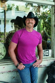 Trace Adkins. He fills out that shirt so nicely...