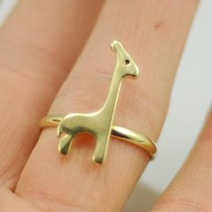 Cute little animals golden deer ring,cheap fashion ring shop at : http://Costwe.com/fashion-cheap-rings-c-47_43.html