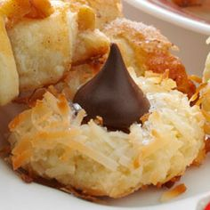 Homemade Macaroon Kisses Recipe from Taste of Home -- shared by Ms. Lee B Roberts of Racine, Wisconsin