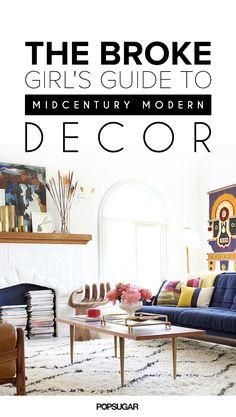 YES!!!!! Affordable midcentury decor