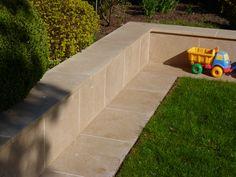Stone Walls, Outdoor Furniture, Outdoor Decor, Home Decor, Concrete Wall, Paredes De Piedra, Interior Design, Home Interior Design, Yard Furniture