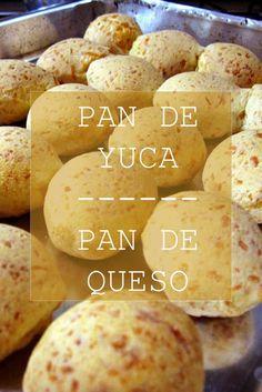 Una Receta fácil para quien está iniciando en la cocina, para poder preparar el pan de yuca o pan de queso, vas a utilizar almidón o harina de yuca, queso, margarina y huevos. #Pan