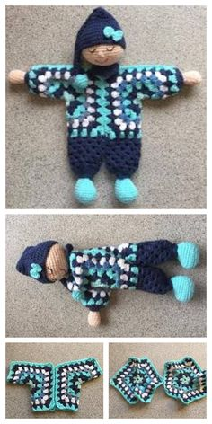 Best Picture For tapestry crochet patterns For Your Taste You are looking for something, and it is going to tell you exactly what you are looking for, and you didn't find that picture. Doll Amigurumi Free Pattern, Doll Patterns Free, Crochet Dolls Free Patterns, Crochet Doll Pattern, Amigurumi Doll, Crochet Fairy, Crochet Lovey, Free Crochet, Crochet Toys