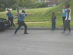 WATCH: Kansas City cop caught on video having dance off with neighborhood kids
