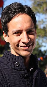 Danny Pudi is the inspiration for Cedar (that and one of my friends from high school).
