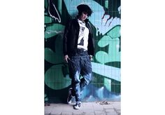 Tegan Look 4 Street Wear, Unisex, Leather, Fictional Characters, Collection, Streetwear, Fantasy Characters
