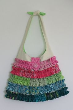 Frilly Dilly Bag Pattern by braidcraft on Etsy